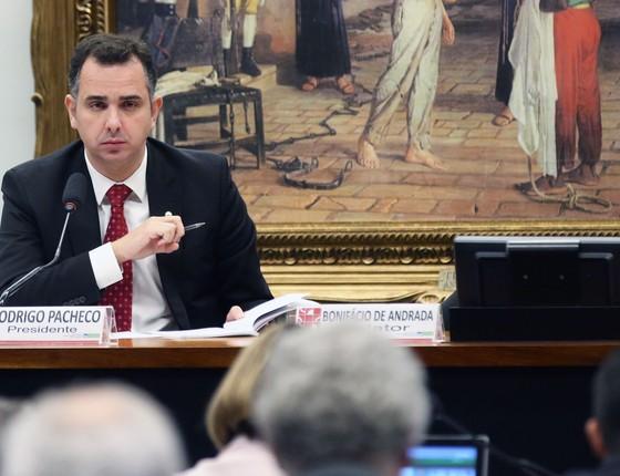 O presidente da CCJ da Câmara dos Deputados, Rodrigo Pacheco (Foto: Antonio Cruz/Agência Brasil)