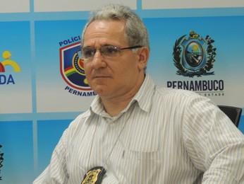 Delegado Eronildo Farias afirma que acionou a Corregedoria. (Foto: Katherine Coutinho/G1)