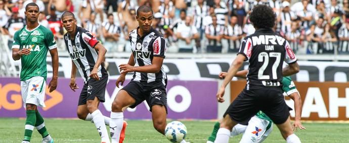 Atlético-MG; Lucas Cândido; Luan (Foto: Bruno Cantini/CAM)