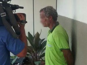 Suspeito de violentar cinco enteadas em Santa Luzia do Itanhy (Foto: Cleverton Macedo/TV Sergipe)