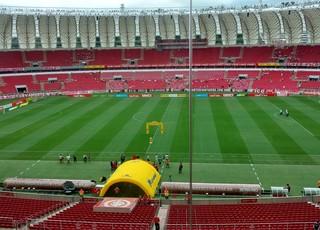 Beira-Rio para Inter x São Paulo-RS (Foto: Márcio Chagas)