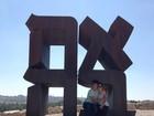 Mateus Solano e Paula Braun curtem viagem romântica em Israel