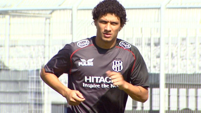 Lucas Patinho, meia da Ponte Preta (Foto: Reprodução EPTV)