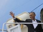 Obama deixa os Estados Unidos para a histórica visita a Cuba