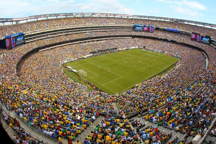 Brasil Argentina Nova Jersey 2012 (Foto: Getty Images)