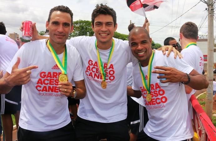 César Gaúcho, Jardel e Dudu (Foto: Luis Augusto/Ag. Botafogo)