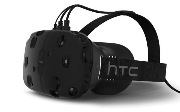 Emaranhado de cabos ainda é um problema sério da realidade virtual e que pode ser resolvido com o WiGig (Foto: Divulgação/HTC)
