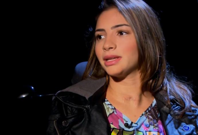 Lais Souza entrevista SporTV News (Foto: Reprodução SporTV)