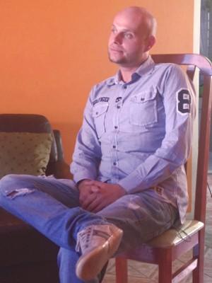 Desesperado, Rafael pediu para ser preso (Foto: Tássia Lima / G1)