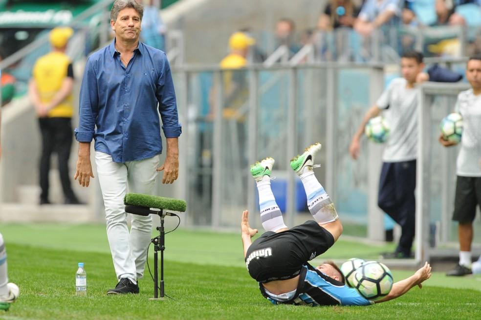 Grêmio perdeu terceira seguida no Brasileiro (Foto: Wesley Santos/Agência PressDigital)