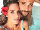 Giovanna Ewbank festeja 'Valentine's Day' e se declara a Bruno Gagliasso