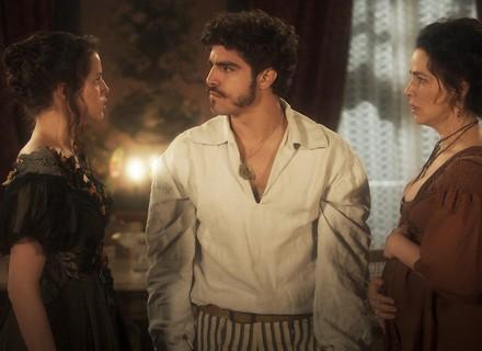 Domitila e Benedita fazem escândalo, e Pedro surta