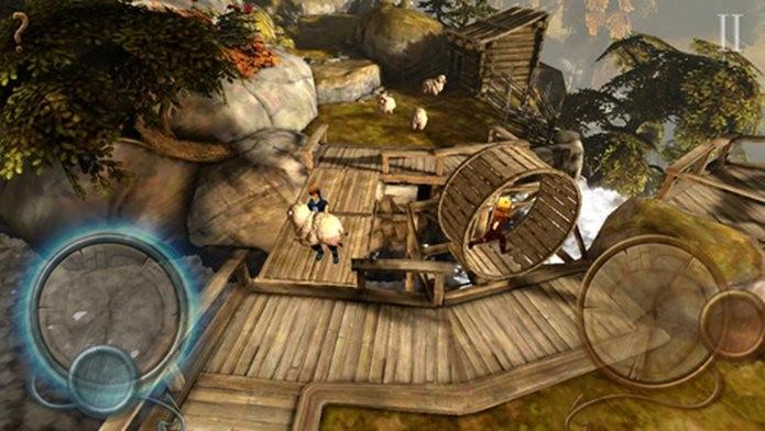Direto dos consoles para o iOS, game envolve resolver quebra-cabeças e passear por belos cenários (Foto: Divulgação / 505 Games)