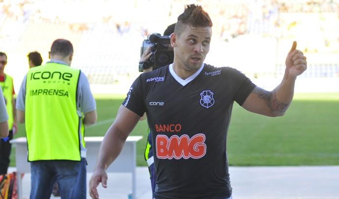 Robert Gladiador, atacante do Rio Branco-ES (Foto: Guilherme Ferrari/A Gazeta)