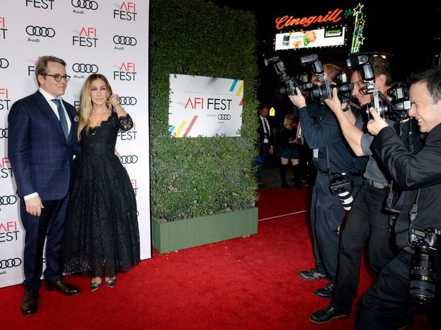 Matthew Broderick e Sarah Jessica Parker em première de filme em Los Angeles, nos Estados Unidos (Foto: Kevork Djansezian/ Reuters)