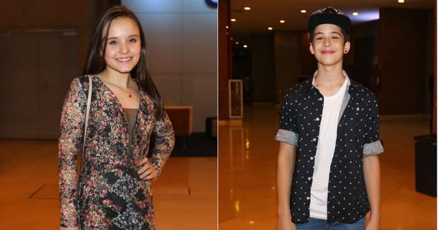 Larissa Manoela  e João Guilherme (Foto: Manuela Scarpa/Brazil News)