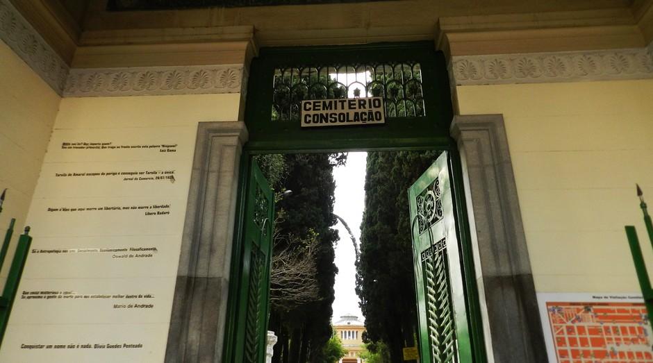Cemitério da Consolação, em São Paulo: prefeitura quer conceder cemitérios e crematórios (Foto: Prefeitura de São Paulo)