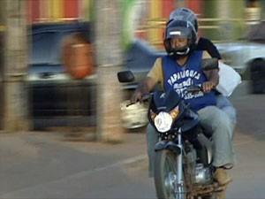 Motoboys terão de fazer curso (Foto: TV Globo/Reprodução)