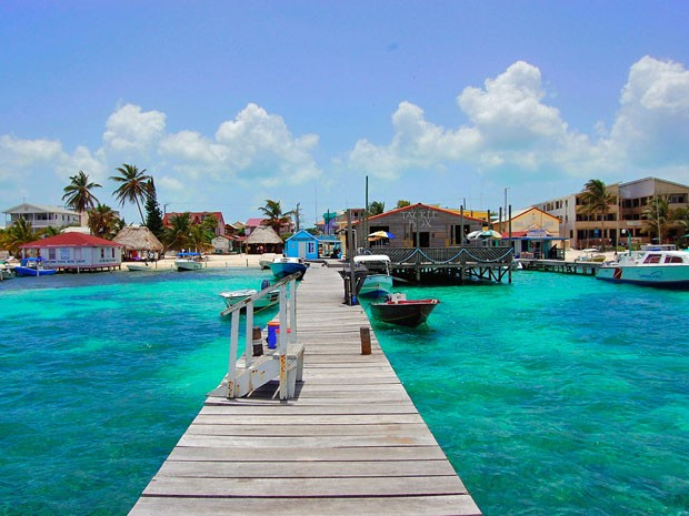 Ambergris Caye, ilha de Belize (Foto: Creative Commons/Areed145)