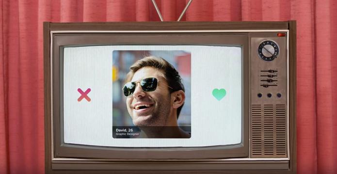 Tinder na Apple TV permite diversão colabortiva (Foto: Reprodução/Felipe Vinha)
