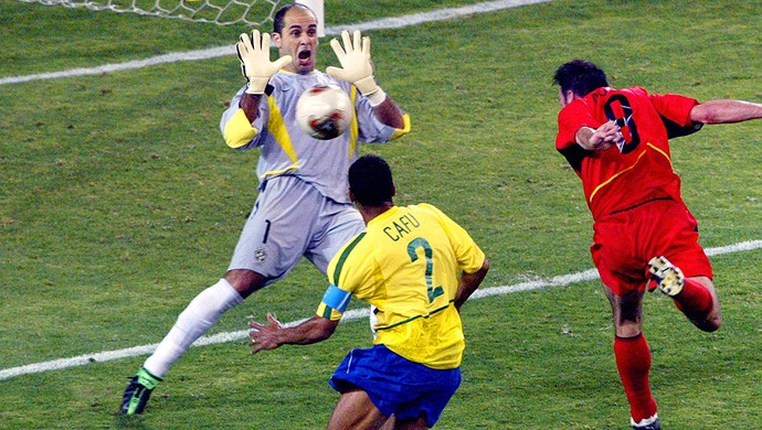Marcos, Seleção Brasileira, Copa do Mundo 2002 (Foto: Agência AFP)