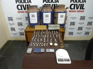 drogas uba (Foto: PM/Divulgação)
