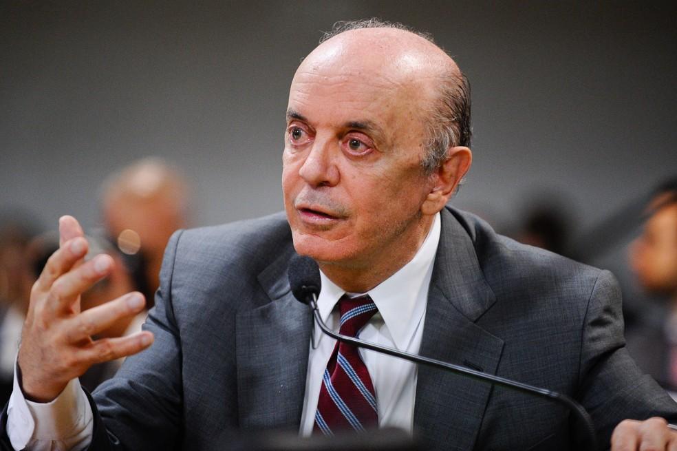 Senador José Serra (PSDB-SP) (Foto: Edilson Rodrigues/Agência Senado)
