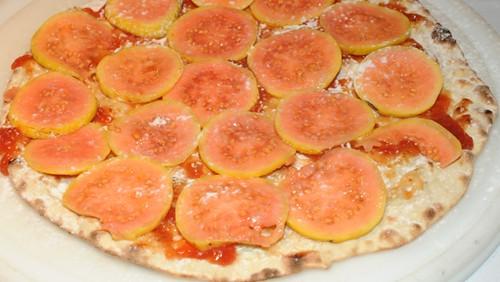 Pizza de goiaba