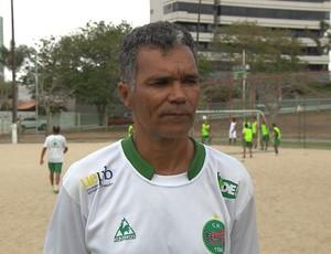 Betão, treinador do Serrano-PB (Foto: Reprodução / TV Paraíba)