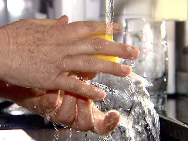 Obras da Sanasa devem afetar distribuição da água na região do Vila Nova (Foto: Reprodução EPTV)