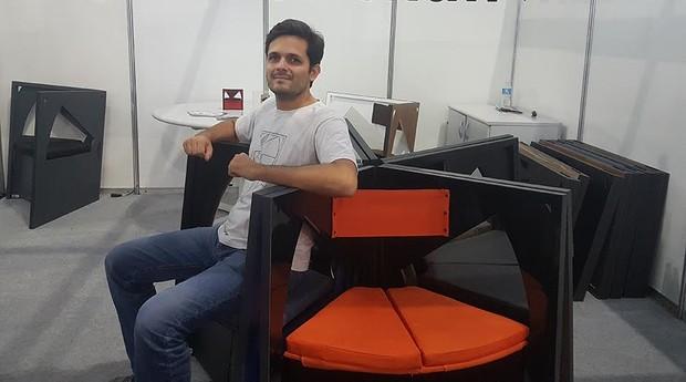 The Book Chair deve aumentar faturamento do escritório de arquitetura (Foto: Débora Duarte)