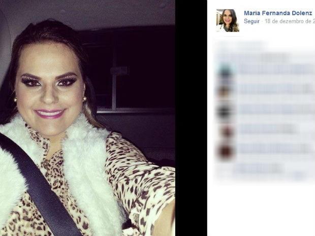 Maria Fernanda Dolenz (Foto: Reprodução/Facebook)