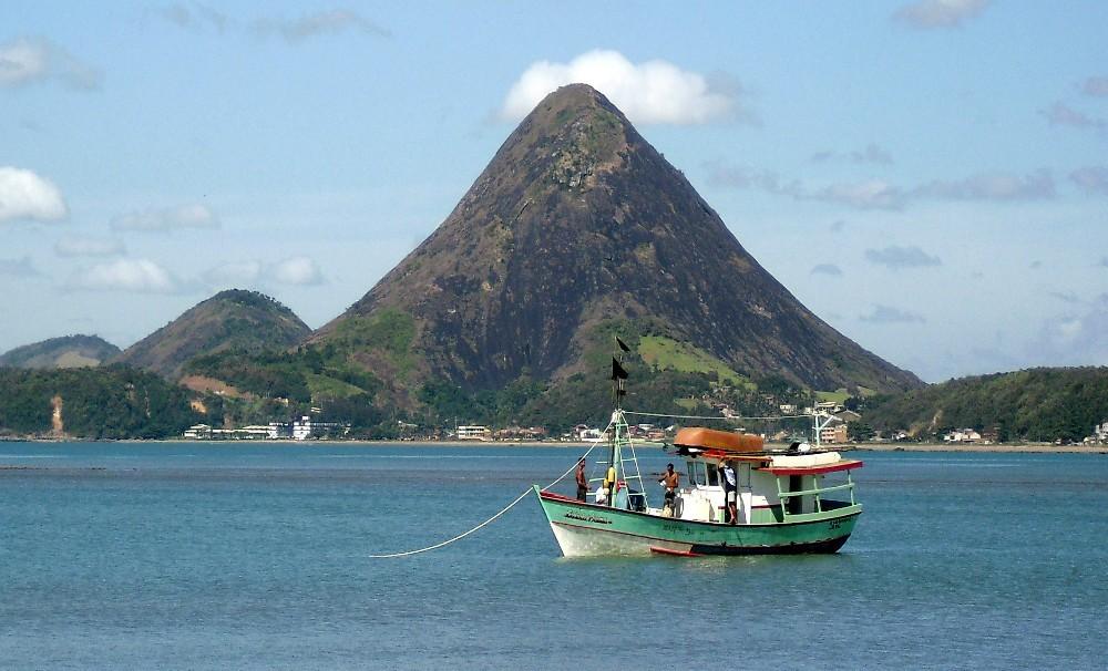Monte Aghá, em Piúma (Foto: Divulgação/ TV Gazeta)
