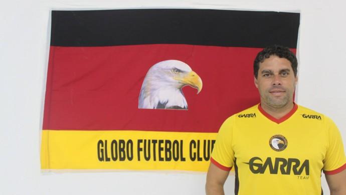 Leandro Sena, técnico do Globo FC (Foto: Kaline Rodrigues/Globo FC)