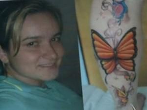 Jovem está desaparecida há dois dias, em Anápolis, Goiás (Foto: Reprodução/ TV Anhanguera)