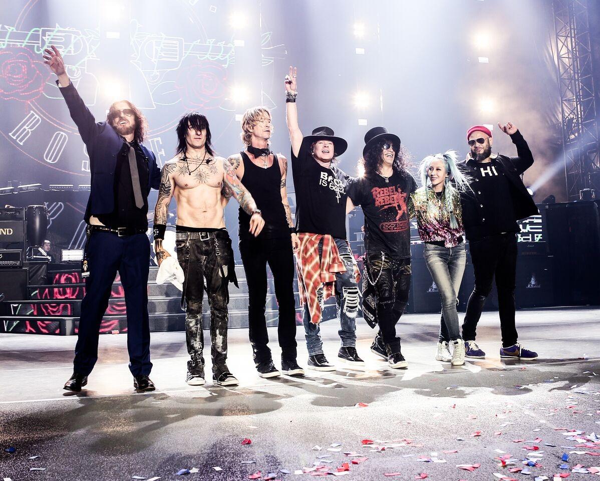Guns N Roses (Foto: Divulgao)