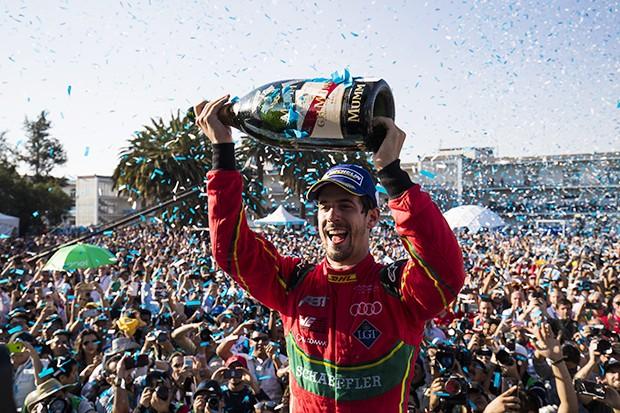 Vitória no México de Di Grassi diminui desvantagem de Lucas para 5 pontos em relação ao líder  (Foto: Divulgação/Audi Sport)