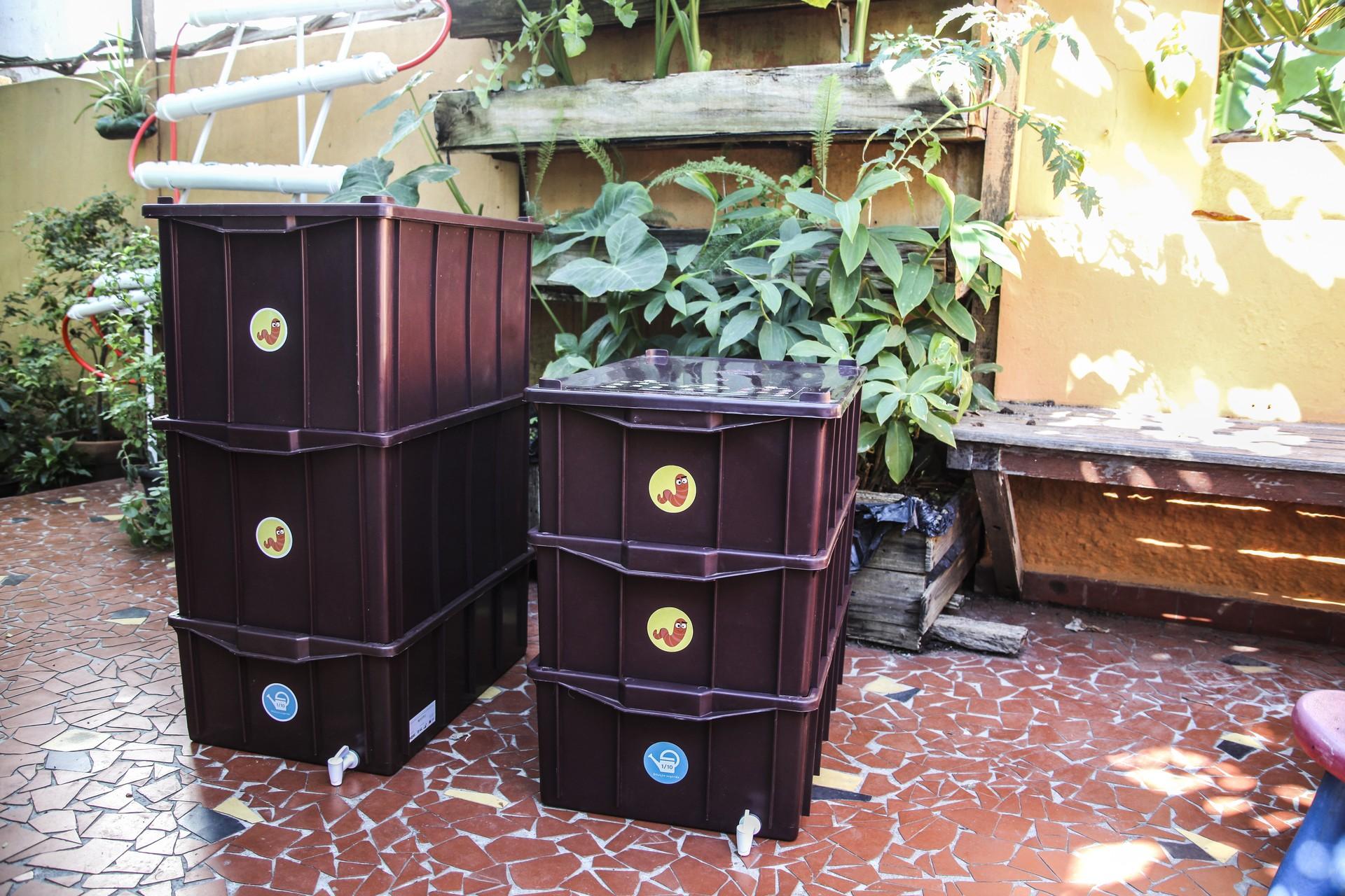 2 mil composteiras pouparão 300 toneladas de resíduos nos aterros (Foto: André Jorge de Oliveira/Ed. Globo)