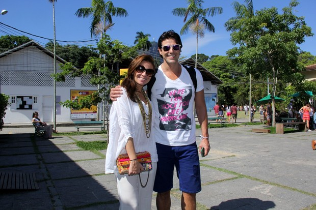 Giovanna Antoneli e Reynaldo Gianecchini (Foto: Alex Palarea_Agnews)