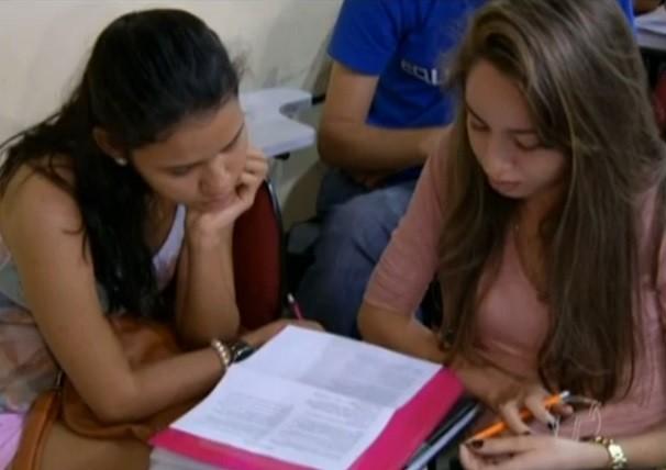 Veja a expectativa dos candidatos para o ENEM 2014. (Foto: Priscila Miranda/ TV Tapajós)
