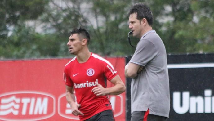 Argel Fucks Alex Inter Internacional (Foto: Diego Guichard/GloboEsporte.com)