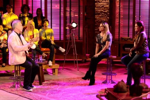 Fernanda Lima e Akexandre Nero participam do Na Moral (Foto: Divulgação/RBS TV)