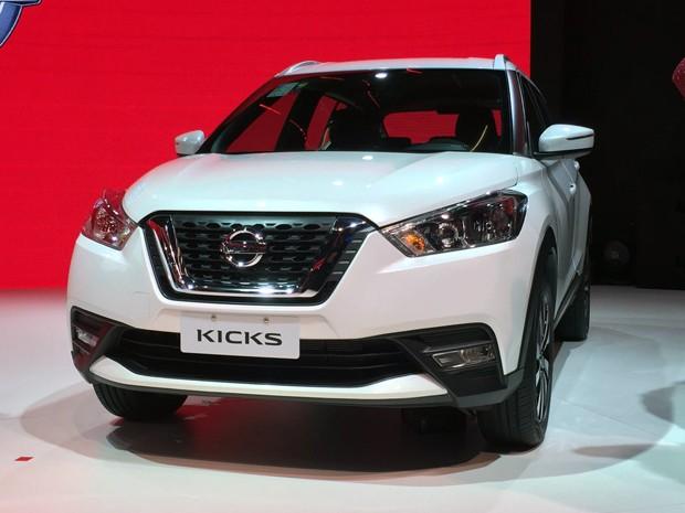Nissan Kicks SV (Foto: André Paixão / G1)