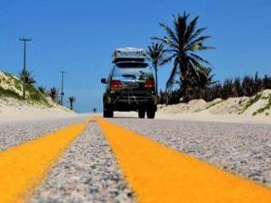Casal já percorreu mais de sete estados do Brasil (Foto: Iara/Divulgação)