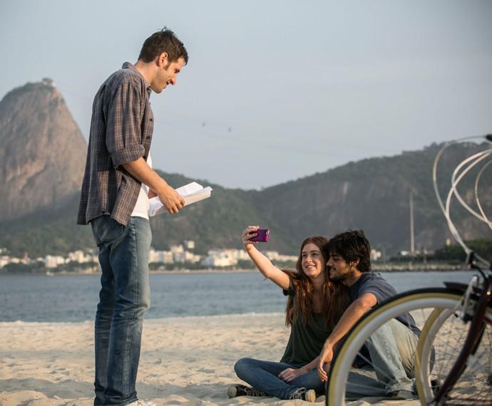 Felipe Simas contracenará com Marina Ruy Barbosa (Foto: Raphael Dias/ Gshow)