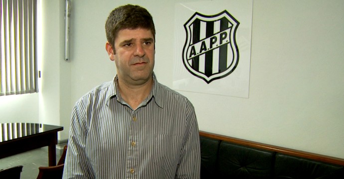 Presidente da Ponte Preta, Márcio Della Volpe (Foto: Reprodução EPTV)