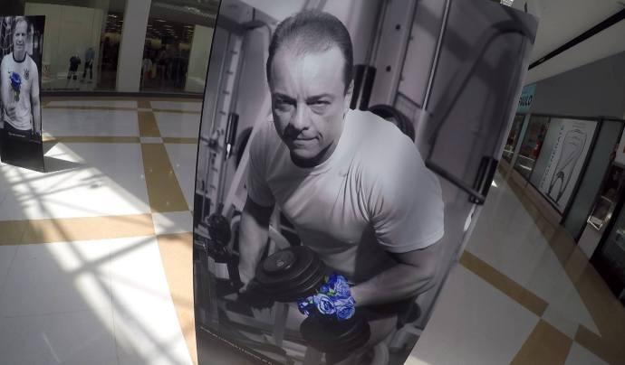 Exposição 'Novembro Azul' tem participação do apresentador Pedro Vieira (Foto: Reprodução / TV Diário)