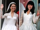 Estilista chinesa copia vestido do casamento de Kate Middleton