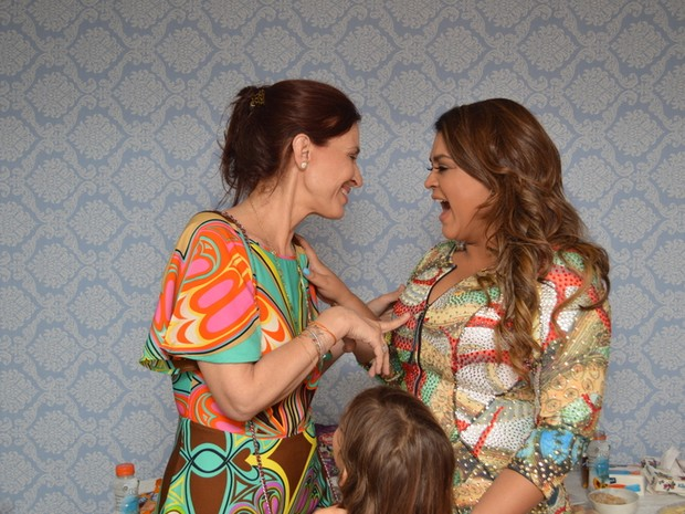 Flora Gil e Preta Gil em show no Recife (Foto: Felipe Souto Maior/ Ag. News)