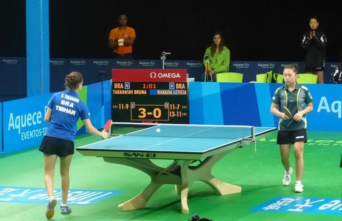 Tênis de mesa evento-teste RioCentro (Foto: Thiago Quintella)